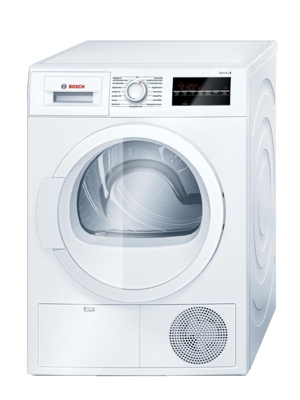 Bosch kondenstrockner wtg 864 h 1 neu w schetrockner for Gebraucht waschmaschinen